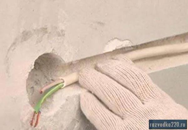 Ремонт скрытой электропроводки своими руками
